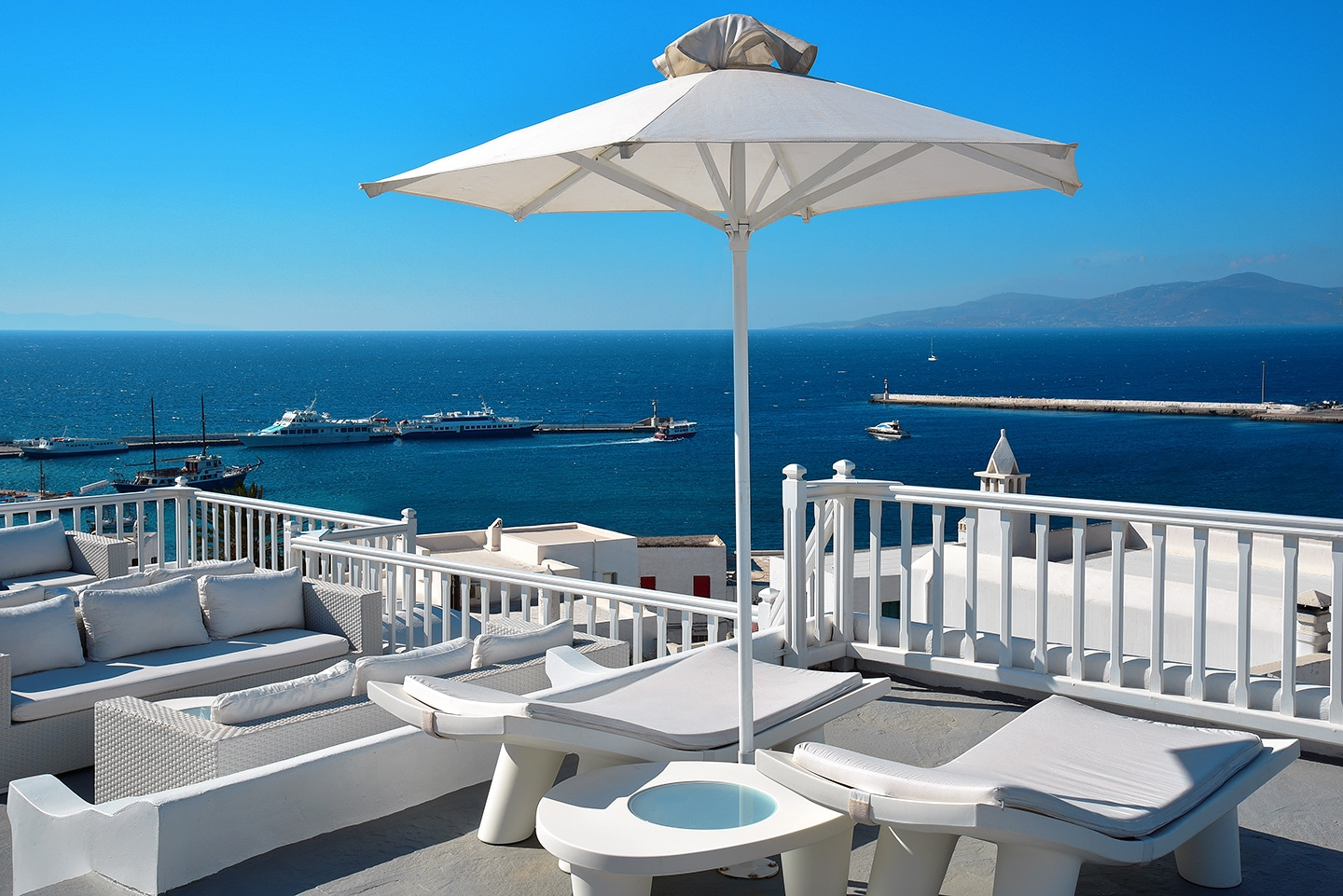 Best Island Beaches For Partying Mykonos St Barts: Petasos Town Mykonos,Exceptionally Situated In The Center