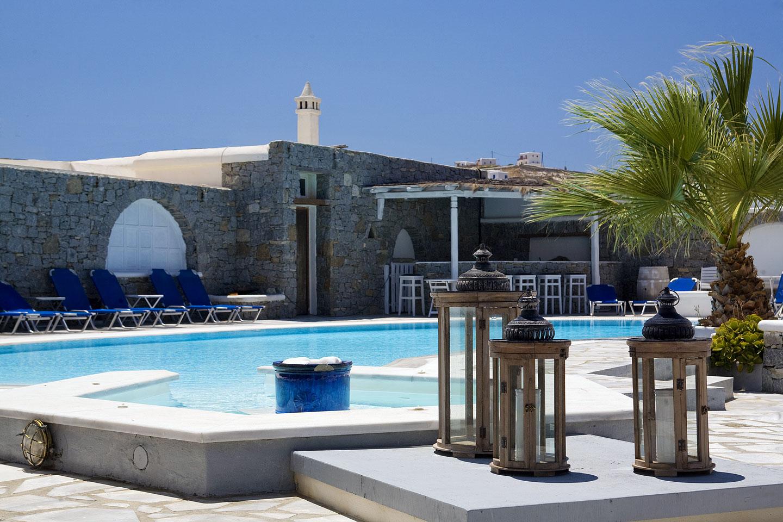 Club Mykonos Ornos Beach Greece